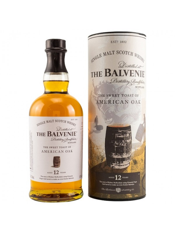 Balvenie 12 Jahre The Sweet Toast of American Oak