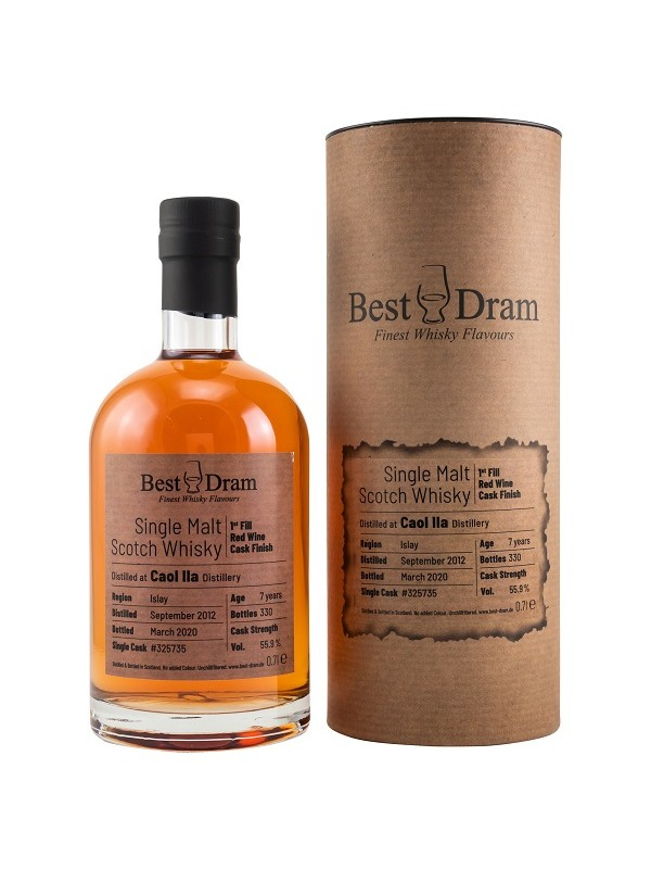 Best Dram Caol Ila 7 Jahre 2012 / 2020 Red Wine Finish