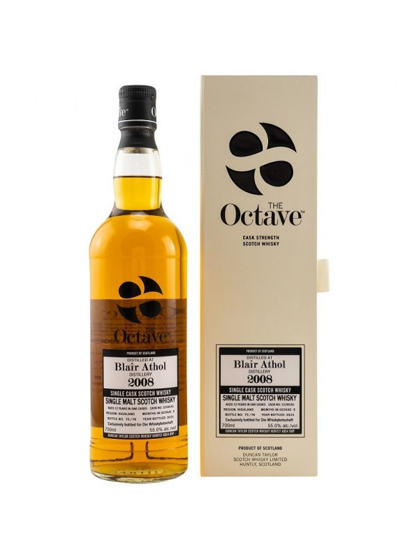 Blair Athol 2008 / 2021 The Octave by Duncan Taylor Exclusively Bottled for Die Whiskybotschaft