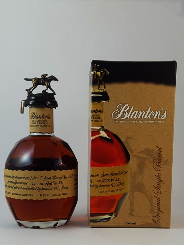 Blanton's The Original Single Barrel