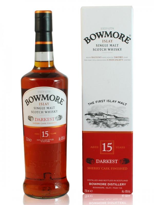 Bowmore 15 Jahre Darkest