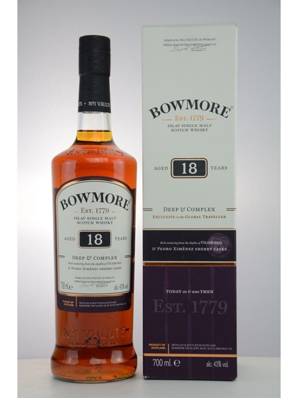 Bowmore 18 Jahre - Deep and Complex