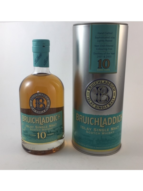 Bruichladdich 10 Jahre - Islay Single Malt Rarität bottled ca. 2002