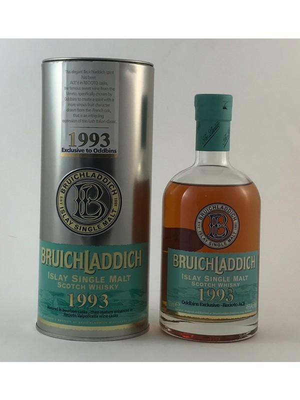 Bruichladdich 1993 Oddbins Exclusive - Recioto ACE - Rarität