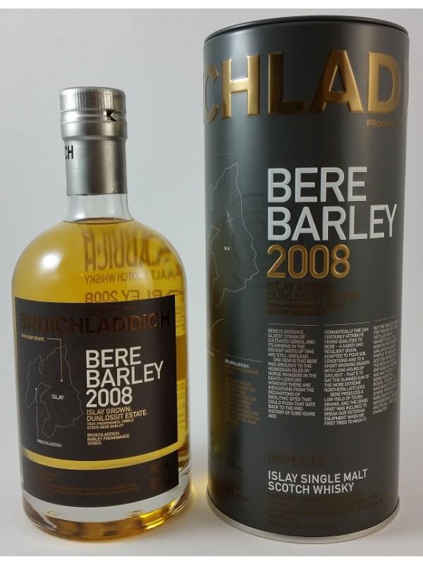 Bruichladdich Bere Barley 2008