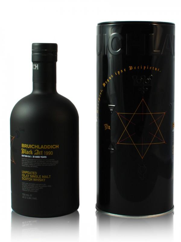 Bruichladdich Black Art 4.1 23 Jahre