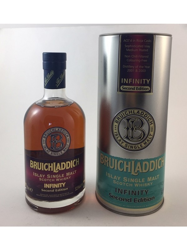 Bruichladdich Infinity Second Edition Rarität