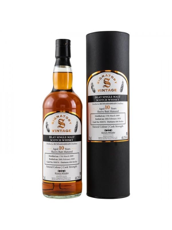 Bunnahabhain 10 Jahre 2009 / 2020 Signatory Cask Strength by Kirsch Whisky