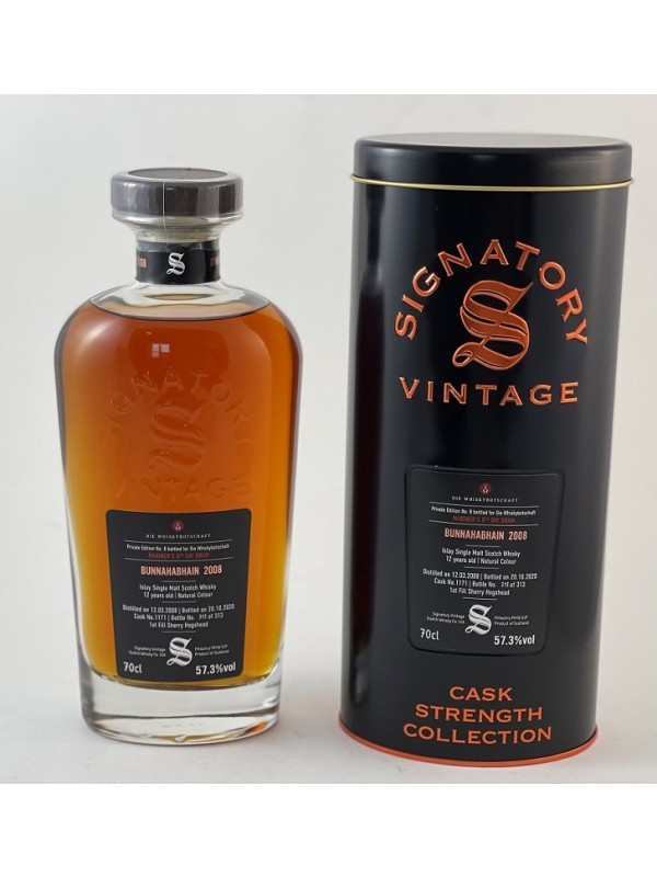 Private Edition No.8 Mariner's 8th Day Dram - Bunnahabhain 2008 / 2020  Signatory Vintage