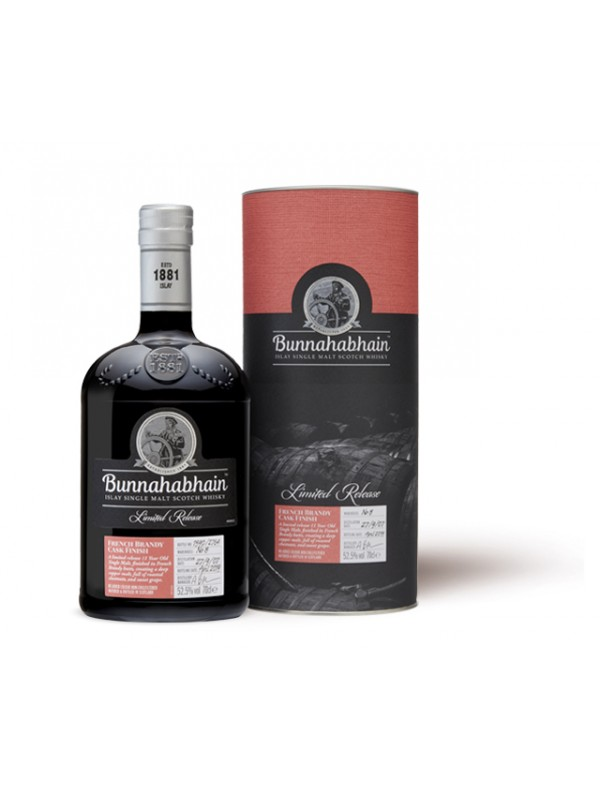 Bunnahabhain French Brandy Cask Finish - Limited Edition