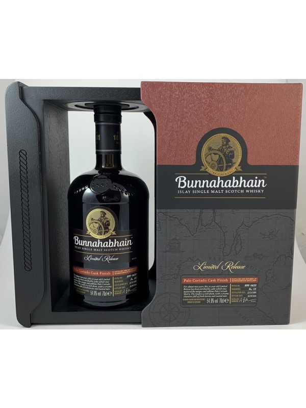 Bunnahabhain Palo Cortado Cask Finish 1997 / 2018 Limited Release in Geschenkbox