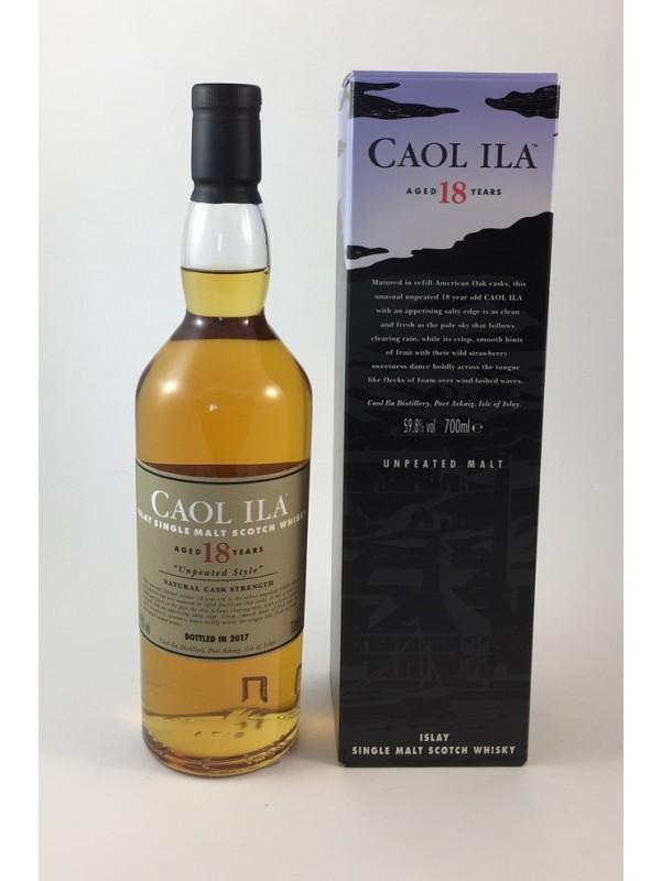 Caol Ila 18 Jahre Unpeated Malt