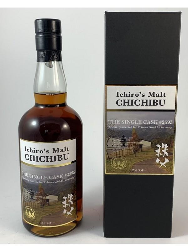 Chichibu Ichiro`s Malt Single Cask 2593 Rarität