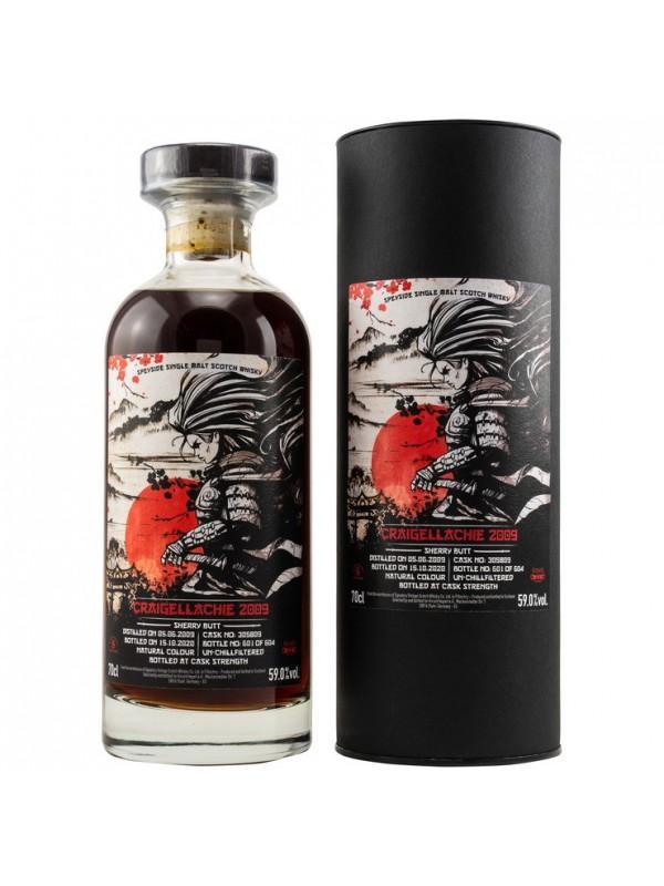 Craigellachie 11 Jahre 2009 / 2020 Signatory Vintage Samurai Series