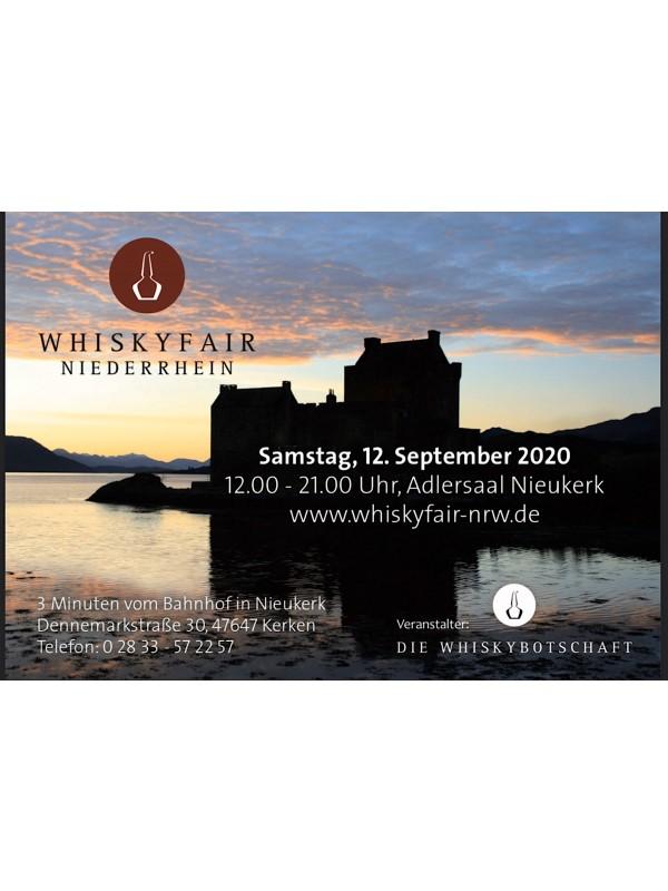 Whiskyfair NRW 2020 inkl. Verzehrgutschein!