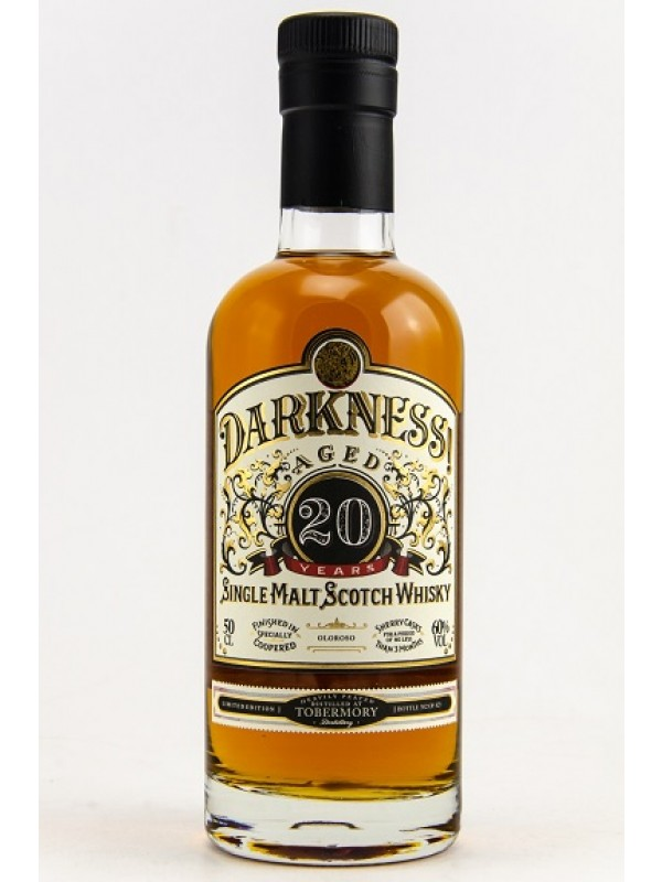 Darkness 20 von Tobermory Heavily Peated