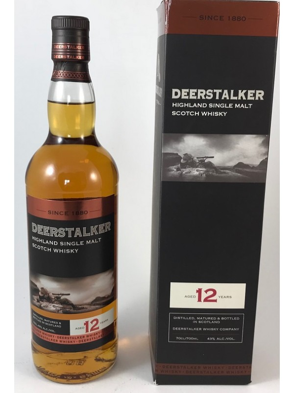 Deerstalker 12 Jahre Single Malt