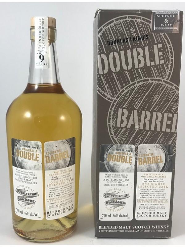 Double Barrel Glenallachie / Bowmore Douglas Laing