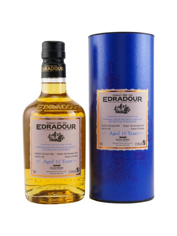 Edradour 10 Jahre 2008 / 2018 Hampden Rum Cask Finish