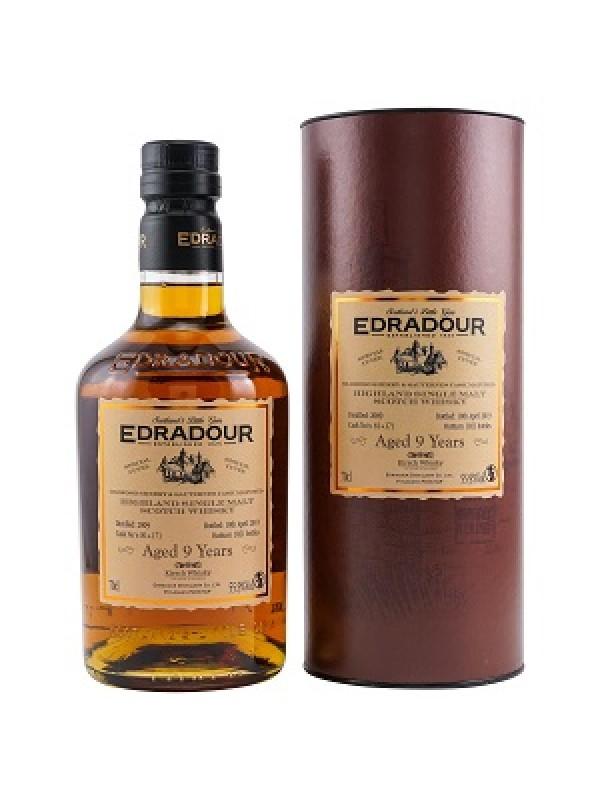Edradour 9 Jahre 2009 / 2019 Sherry / Sauternes Cuvee