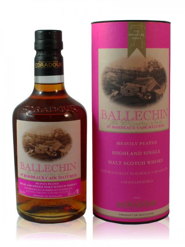Edradour Ballechin Bordeaux Cask