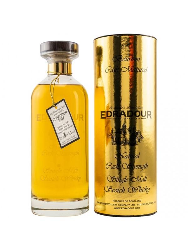 Edradour 13 Jahre 2007 / 2021 Ibisco Bourbon Cask