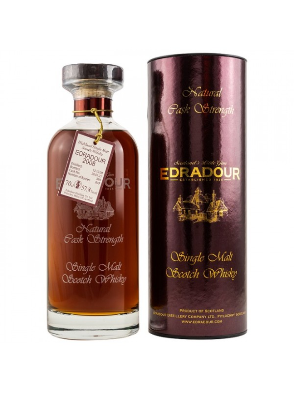 Edradour 2008 / 2021 Ibisco Sherry Cask No. 384