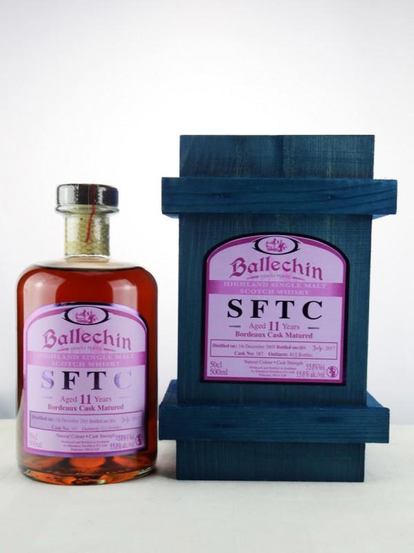 Edradour Ballechin SFTC 11 Jahre Bordeaux Cask