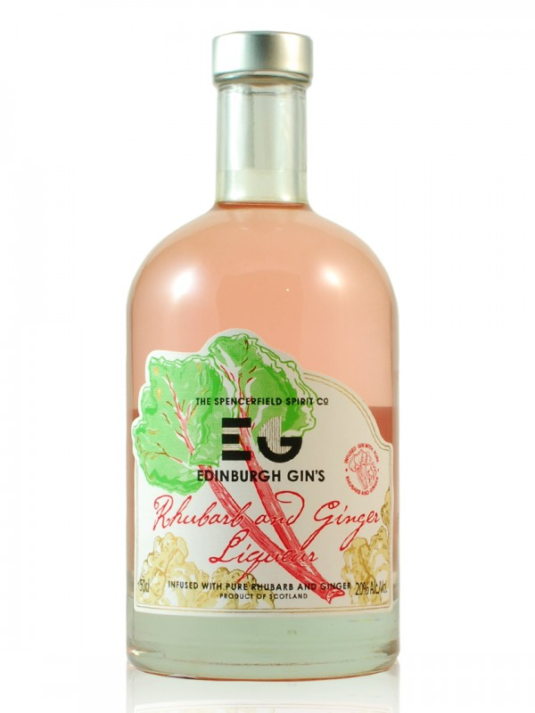 EG Edinburgh Gin Rhubarb and Ginger Liqueur