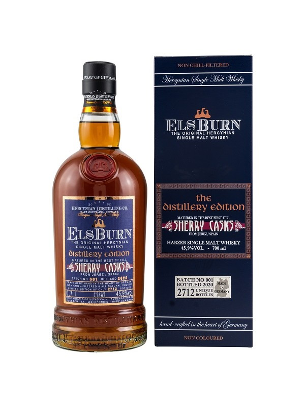 ElsBurn Distillery Edition 2020  Batch 001