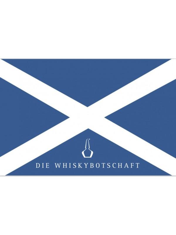 """Schottland-Aufkleber """"Saltire"""" Andreaskreuz"""