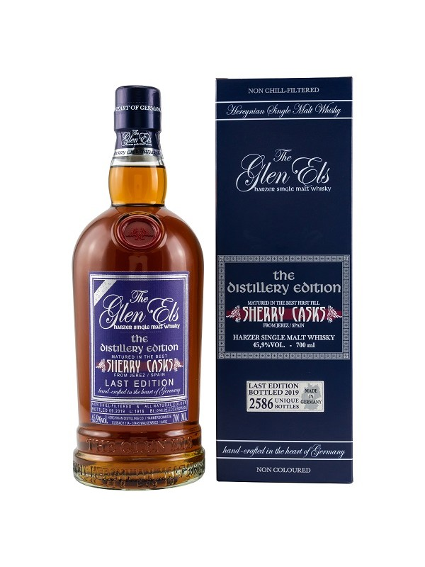 Glen Els Distillery Edition - Sherry Cask - Last Edition