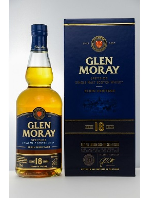 Glen Moray 18 Jahre - First Fill American Cask