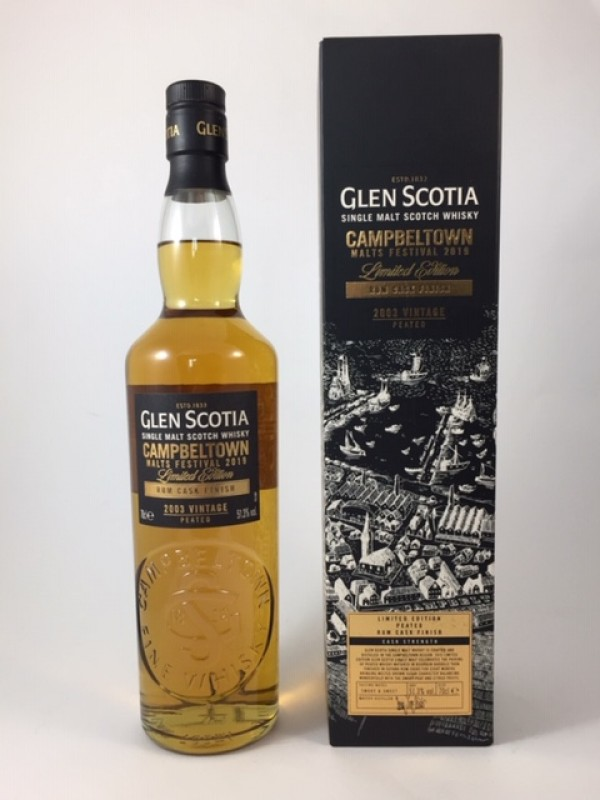 Glen Scotia 2003 Vintage - Campbeltown Malts Festival 2019 Limited Edition