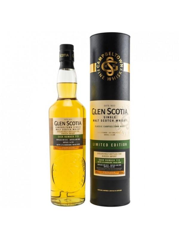 Glen Scotia Single Cask 2012 / 2020 Unpeated - Kirsch Exclusive