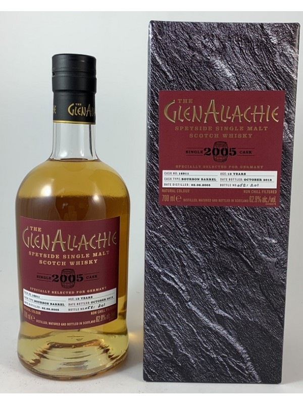 Glenallachie 2005 / 2018 13 Jahre Single Cask 16911 Bourbon Barrel- stark limitiert!