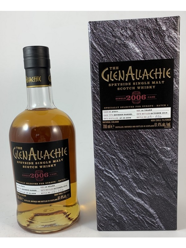 Glenallachie 2006 / 2018 12 Jahre Single Cask 279770 Bourbon Barrel- stark limitiert!