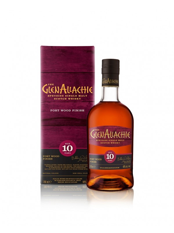 GlenAllachie 10 Jahre Ruby Port Pipe Finish