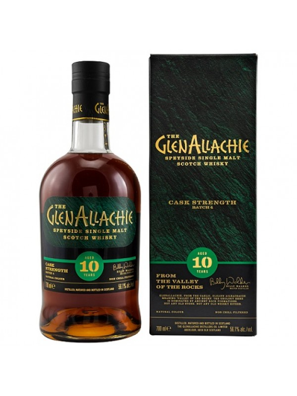 Glenallachie 10 Jahre Cask Strength - Batch 4