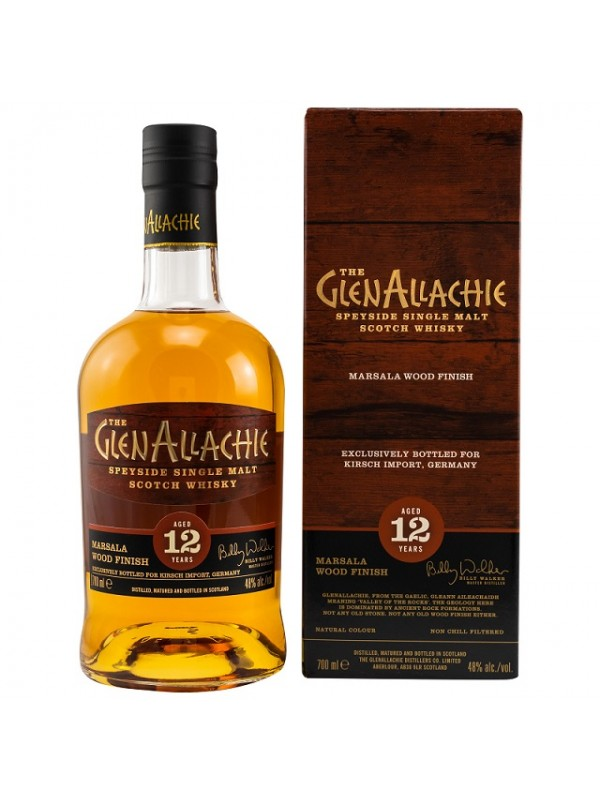 GlenAllachie 12 Jahre Marsala Wood Finish Germany exclusive -limitiert