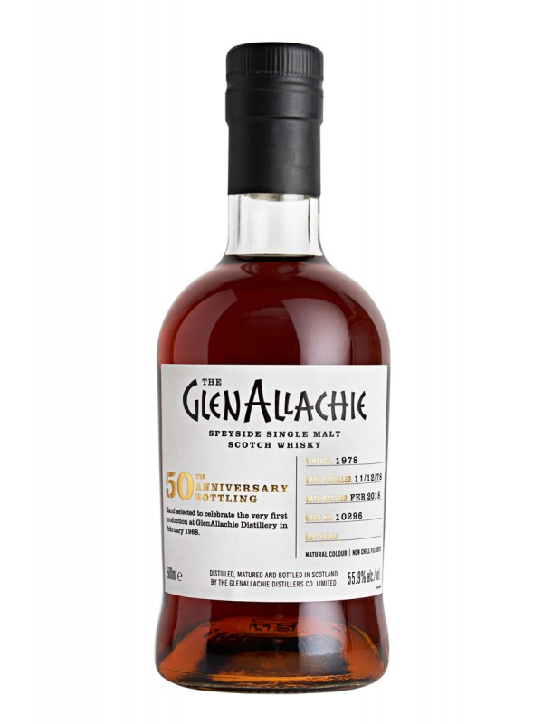 Glenallachie 1978 / 2018 39 Jahre 50th Anniversary Edition Cask 10296