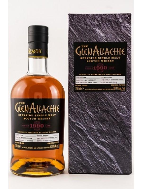 GlenAllachie 1990 / 2018 Single Cask 1465 PX Puncheon - stark limitiert!