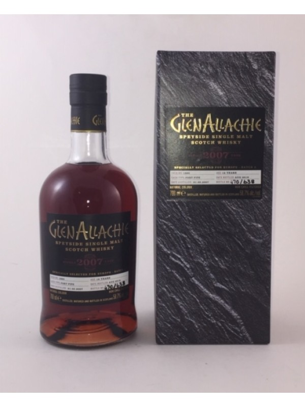 GlenAllachie 2007 / 2019 Single Cask 1860 - Port Pipe