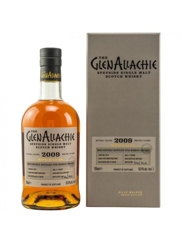 GlenAllachie 2009 / 2021 Single Cask 7673 - Ruby Port Pipe
