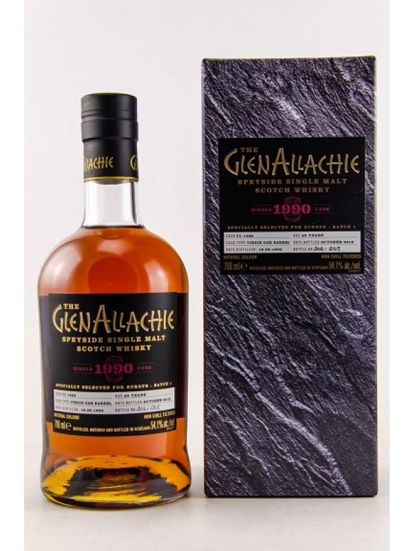 GlenAllachie 28 Jahre 1990 / 2018 Single Cask 1468 Virgin Oak Barrel - stark limitiert!