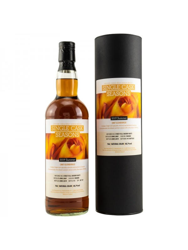 Glenburgie 2007 / 2019 Single Cask-Seasons - Summer 2019