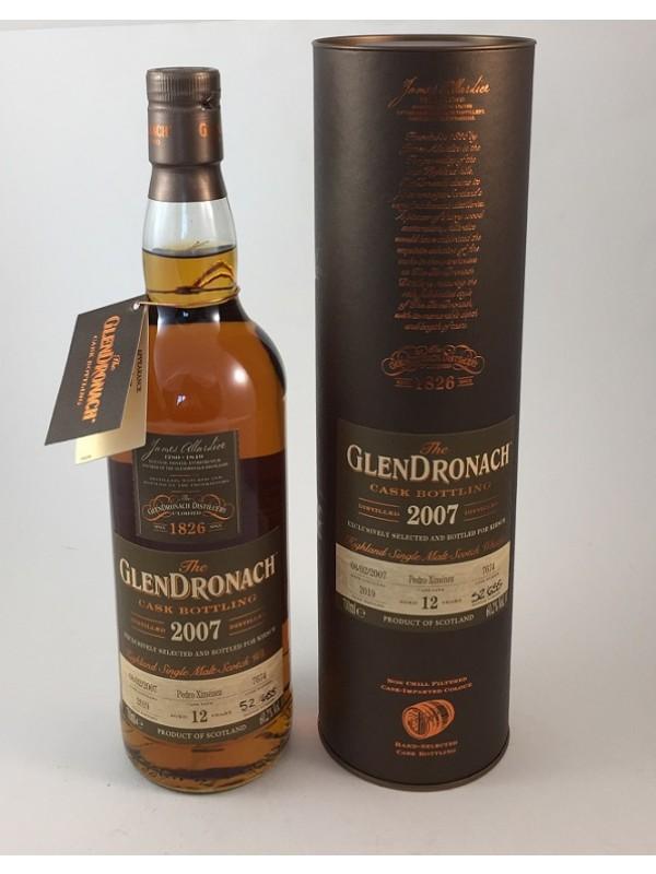 GlenDronach 2007 - 12 Jahre PX Cask No. 7674