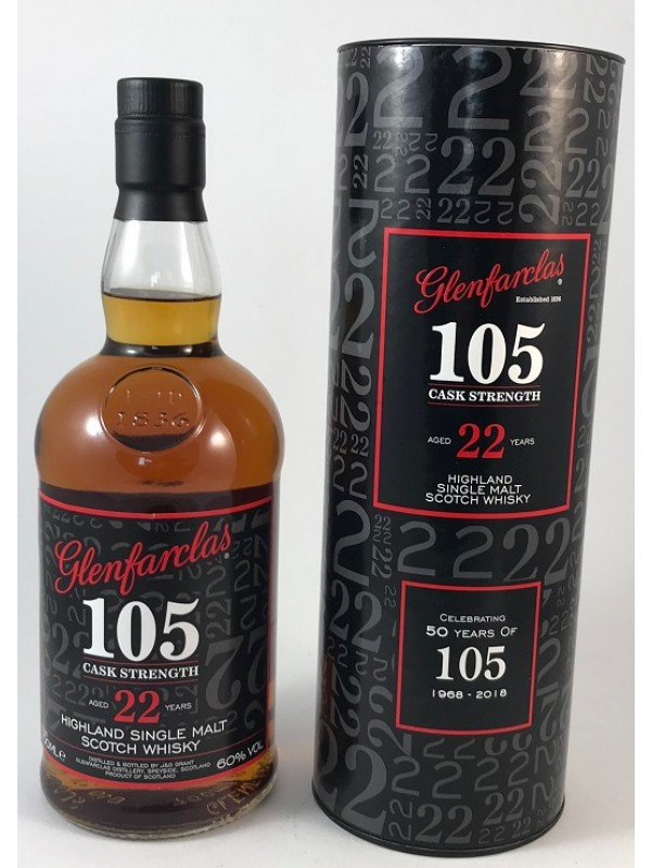 Glenfarclas 105 22 Jahre 50Y Anniversary