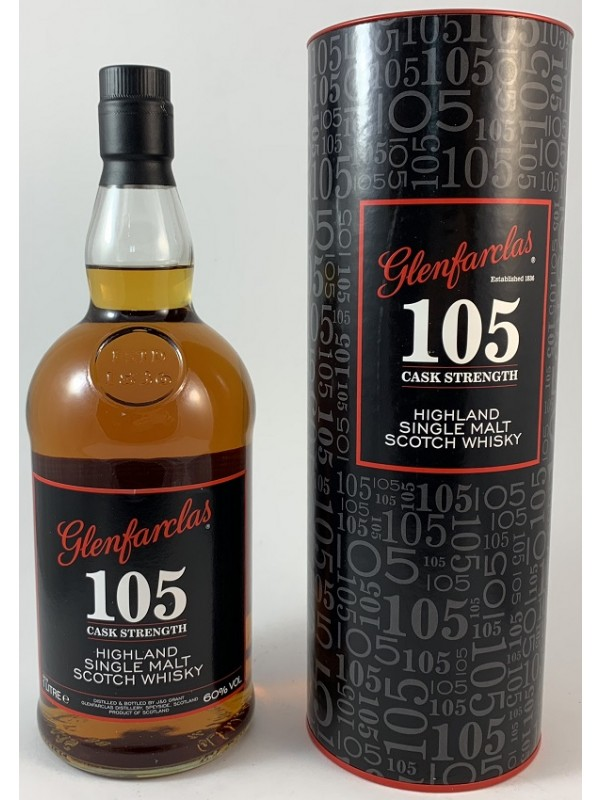 Glenfarclas 105 cask strength 60% vol 1l