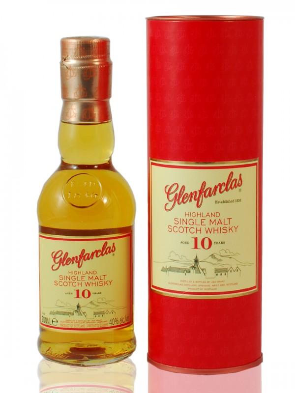 Glenfarclas 10 Jahre - 0,2 Liter